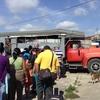キューバで家畜用トラック『カミオン』に乗った