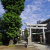 龍神社へ朔日参り。