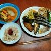 幸運な病のレシピ( 2390 )昼:煮着け、魚(3種類)、レンコンバターきんぴら