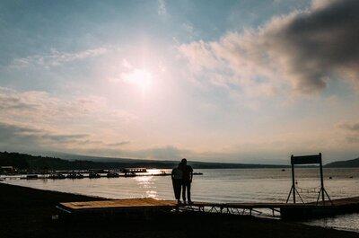 【入籍旅行 後半】山中湖のほとり、富士山の見える丘、恒例の帰路渋滞