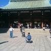 明治神宮に行ってきました。