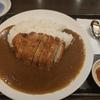 酔心(京都駅前店)での八代目御池カレー。カツカレーを堪能しました。