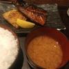 西新宿【白銀屋】さばの半々(さば塩とさばみりん)定食 ¥780+ご飯大盛 ¥50