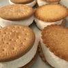 一つがお手玉サイズ!でっかいメガマシュマロを使って マシュマロサンドクッキー