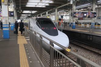 広島駅から新幹線新岩国経由で錦帯橋へ。