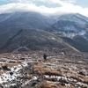 初冠雪の鳥海山へ