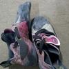 京都三条の靴屋「凜靴」にクライミングシューズ(ソリューション)のリソールをしてもらった