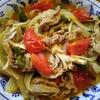 豚肉と野菜とトマトの炒め物