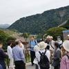立野ダム建設現場の見学会