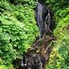 今別町『袰月海雲洞釈迦堂』内の滝
