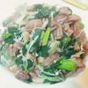 レシピ 葉玉ねぎと豚のサガリの炒め物