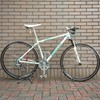 【自転車】Vブレーキのワイヤー交換と猫のヒゲ