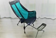 キャンプ用のチェアにもフットレストが欲しい! 熟睡できる椅子にしてみます