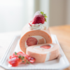 ふわっふわ、苺のシフォンロールケーキ | レシピ・作り方