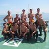 鳥羽海上保安部と水難救助教育指導者の合同潜水訓練