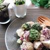 里芋とキャベツ、ブロッコリーのサラダ【#里芋 #キャベツ #ブロッコリー #レシピ #おかず】