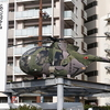 陸上自衛隊 OH-6Jの展示機