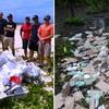 みよ、これが在沖海兵隊 - ヤンバルの森にゴミを撒き散らかし、人前では清掃ボランティアの宣伝活動