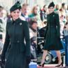 ケイト・ミドルトン、頭から足先まで緑色。幸運を呼ぶグリーンコート・ルック