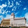 バルセロナ 空と大地と緑の楽園