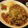 札幌市豊平区月寒東 中華料理 パンダ 月寒店 で五目あんかけ焼きそば