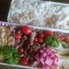 ホタテ炊き込みご飯と豚さん生姜焼き弁当