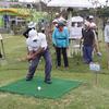 頭と体を使うパークゴルフで認知症予防