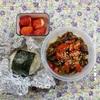 豚バラ黒酢混ぜ麺弁