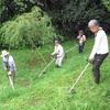 多聞山の草刈り