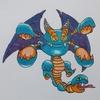 シドー(ポケモン風) Malroth , Pokémon style.