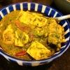 【1食90円】タンパク質増強ほうれん草と豆腐のチキン卵カレーの自炊レシピ