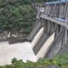 城山ダムで、大雨時、容量確保の為「事前放流」導入!
