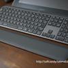 『ロジクール アドバンスド ワイヤレスキーボード KX800 MX KEYS 』に合わせてロジクール パームレスト MX10PRを購入(感想レビュー)