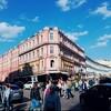 ロシアの歩行者天国 アルバート通りに行ってきた