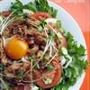 ●ヘルシー&ガッツリな焼き肉サラダうどん