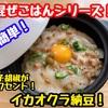 【レシピ】簡単!混ぜごはん!ネバネバ丼!イカオクラ納豆!