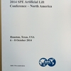科学技術系国際会議録 新刊案内: SPE Artificial Lift Conference - North America 2014