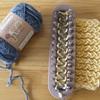 【セリア】マフラーニットメーカーでマフラーを編んでみた