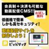 ピッパサック 動画配信CMSの無料トライアルと有料プラン契約