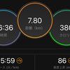 ジョギング7.80km・岩本式サブ3.5メニュー、第4週に突入