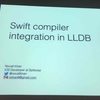 try! Swift SwiftコンパイラとLLDBの連携 #tryswiftconf Day2-7