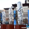 平昌五輪のプレスセンター前にあるオブジェがお前らの想像斜め上を行く程、全人類の理解を超えている件wwwwwwww