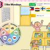 小学校外国語 所見&評価「I like Mondays.」(Let's Try2 Unit3)