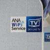 機内Wi-Fiサービスってすごい。これは画期的なサービスだわ。