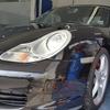 車 ボディコーティング Porsche/BoxterS フッ素樹脂結合系コーティング+硬化系オーバーコーティング