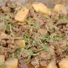 牛あご肉と聖護院大根の煮込み