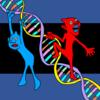 DNAの妖精 の無料イラスト