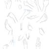 【45】 6/18 「手を練習する。-模写をして手を考える②-」