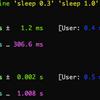 Linuxメモ : hyperfine, benchでコマンドのベンチマーク