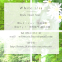 white iris  official blog